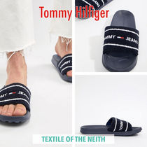◆Tommy Hilfiger◆Tommy Jeansロゴ刺繍 タオリングサンダル
