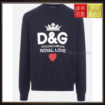 【ドルチェ&ガッバーナ】D&Amp;G Royal Love Print Cotton