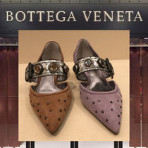 【18AW NEW】BOTTEGA VENETA_women / D'ORSAY スエードパンプス