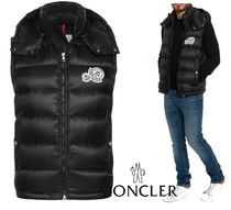 """18/19aw★MONCLER""""GERS""""Wワッペンライトダウンベスト【関税込】"""