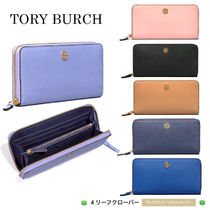新作!★Tory Burch★ROBINSON ZIP CONTINENTAL WALLET