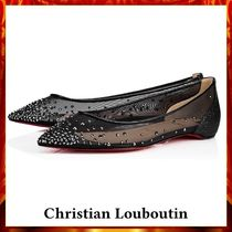 【Christian Louboutin】Follies Strass Flat