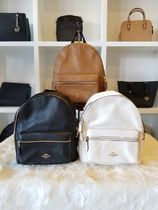 【即発◆3-5日着】COACH◆MEDIUM BACKPACK PEBBLE レザー*F30550