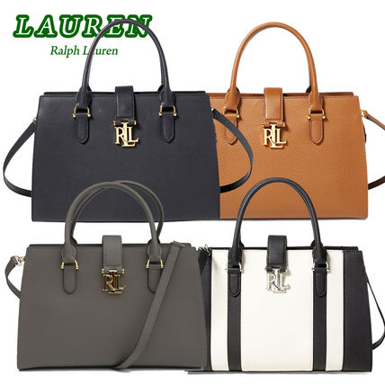 即発!特別価格!Ralph Lauren Brigitte II Medium Satchel 4色