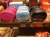 Tory Burch★STACKED PATENT SMALL COSMETIC CASE化粧ポーチ3色
