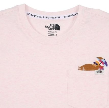 THE NORTH FACE Tシャツ・カットソー 日本未入荷☆THE NORTH FACE☆ 刺繍 ポケット Tシャツ(6)