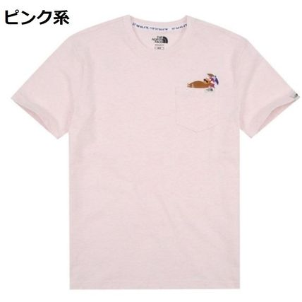 THE NORTH FACE Tシャツ・カットソー 日本未入荷☆THE NORTH FACE☆ 刺繍 ポケット Tシャツ(5)
