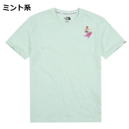 THE NORTH FACE Tシャツ・カットソー 日本未入荷☆THE NORTH FACE☆ 刺繍 ポケット Tシャツ(13)