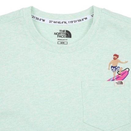 THE NORTH FACE Tシャツ・カットソー 日本未入荷☆THE NORTH FACE☆ 刺繍 ポケット Tシャツ(14)