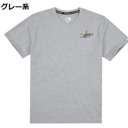 THE NORTH FACE Tシャツ・カットソー 日本未入荷☆THE NORTH FACE☆ 刺繍 ポケット Tシャツ(15)