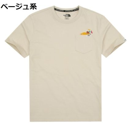 THE NORTH FACE Tシャツ・カットソー 日本未入荷☆THE NORTH FACE☆ 刺繍 ポケット Tシャツ(19)
