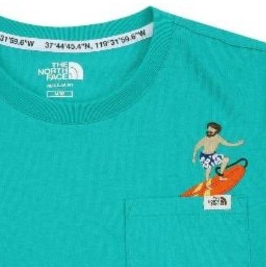 THE NORTH FACE Tシャツ・カットソー 日本未入荷☆THE NORTH FACE☆ 刺繍 ポケット Tシャツ(18)