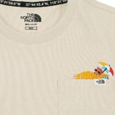 THE NORTH FACE Tシャツ・カットソー 日本未入荷☆THE NORTH FACE☆ 刺繍 ポケット Tシャツ(20)