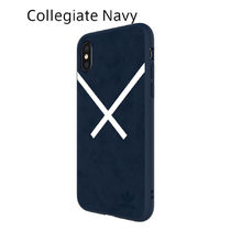 adidas iPhoneX ケース OR XBYO Moulded case Collegiate Navy