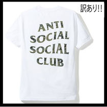 【訳あり】Anti Social Social Club/Woody ロゴ Tee【送関込】