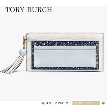 新作!★Tory Burch★COLOR-BLOCK TOP-ZIP WALLET