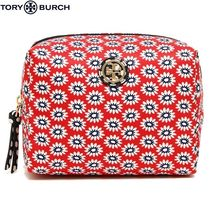 即発★Tory Burch★PRINTED NYLON BRIGITTE COSMETIC  ポーチ