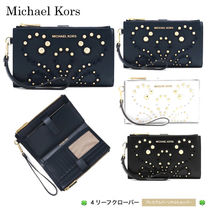 新作!★Michael Kors★Adele Embellished Leather