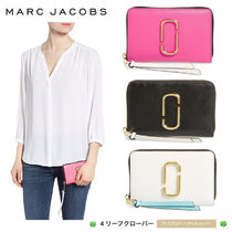 新作!★MARC JACOBS★Small Snapshot Leather Zip-Around
