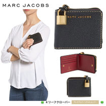 新作!★MARC JACOBS★The Grind Leather Snap Wallet