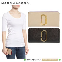 新作!★MARC JACOBS★Snapshot Open Face Leather Wallet