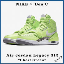 "【Nike × Don C】コラボ Air Jordan Legacy 312 ""Ghost Green"""