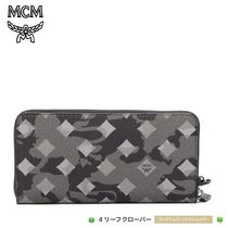 人気!★MCM★Ottomar Large Leather Zip Wallet
