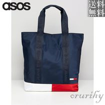 ASOS取扱★Tommy Jeans Classic バイカラー トート バッグ