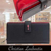 Christian Louboutin Paloma Black Leather Wallet 関税送料込