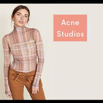◎【Acne Studios】 売切必死 Plaid Long Sleeve Tee