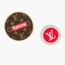 EMS配送!Supreme x LOUIS VUITTON  Broche City Badge 2セット