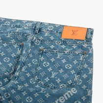 EMS配送!Supreme x LOUIS VUITTON  Monogram Regular Jeans