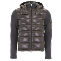 MONCLER Wool And Nylon Jacket