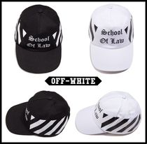 ★関税込★Off-White★オフホワイトDiag school of low cap★