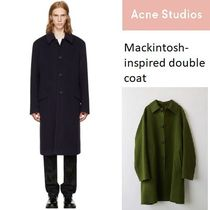 [Acne] Mackintosh-style Cashmere coat カシミア混ダブルコート