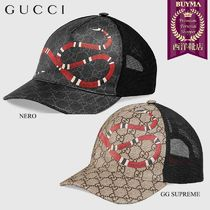 【正規品保証】GUCCI★18秋冬★KINGSNAKE BASEBALL HAT