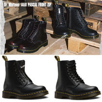 Dr Martens★1460 PASCAL FRONT ZIP ジッパー&レースアップ 2色