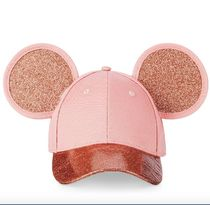 Mickey Mouse Rose Gold Ears Hat for Adults by Cakeworthy