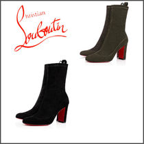 【ルブタン】*Gena Bootie Veau Velours Stretch*  2色