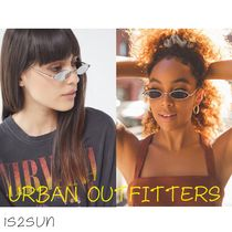 日本未入荷 Urban Outfitters/Salem Slim Oval Metal Sunglasses
