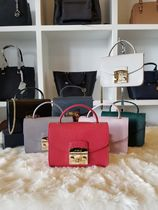 【即発3-5日着】FURLA★METROPOLIS MINI TOP HANDLE★BHD3