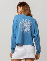 RIP CURL(リップカール) Tシャツ・カットソー US限定☆RIP CURL Ocean Wave Crop Tee☆バックプリントロンT
