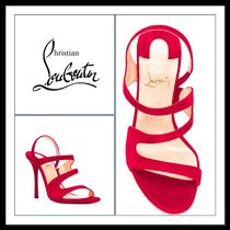 ★Christian Louboutin 《OPEN-TOE STRAPPY SANDALS》送料込★