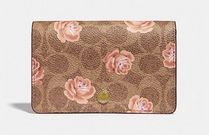 COACH Signature Card Case Rose Print 薔薇 カードケース