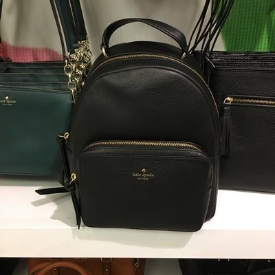 kate spade new york バックパック・リュック 【kate spade】新作☆ mini nicoleレザーバックパック☆(2)