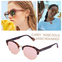 Hawkers(ホーカーズ) サングラス HAWKERS/ CAREY /ROSE GOLD CLASSIC ROUNDED
