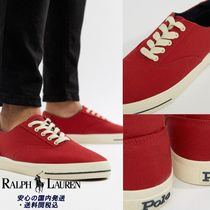 Ralph Lauren☆ CP-93 Capsule Canvas Trainers in Red♪