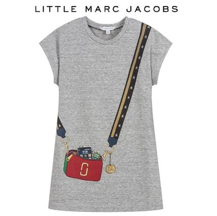 Little Marc Jacobs☆人気♪バッグ柄ワンピース (2-12歳)2018AW