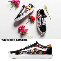 VANS★OLD SKOOL★FLORAL-BLACK★花柄
