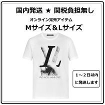 Louis Vuitton★完売間近★コットンTシャツ PEACE AND LOVE★